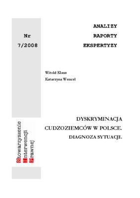 ARE-708-dyskryminacja cudzoziemcow